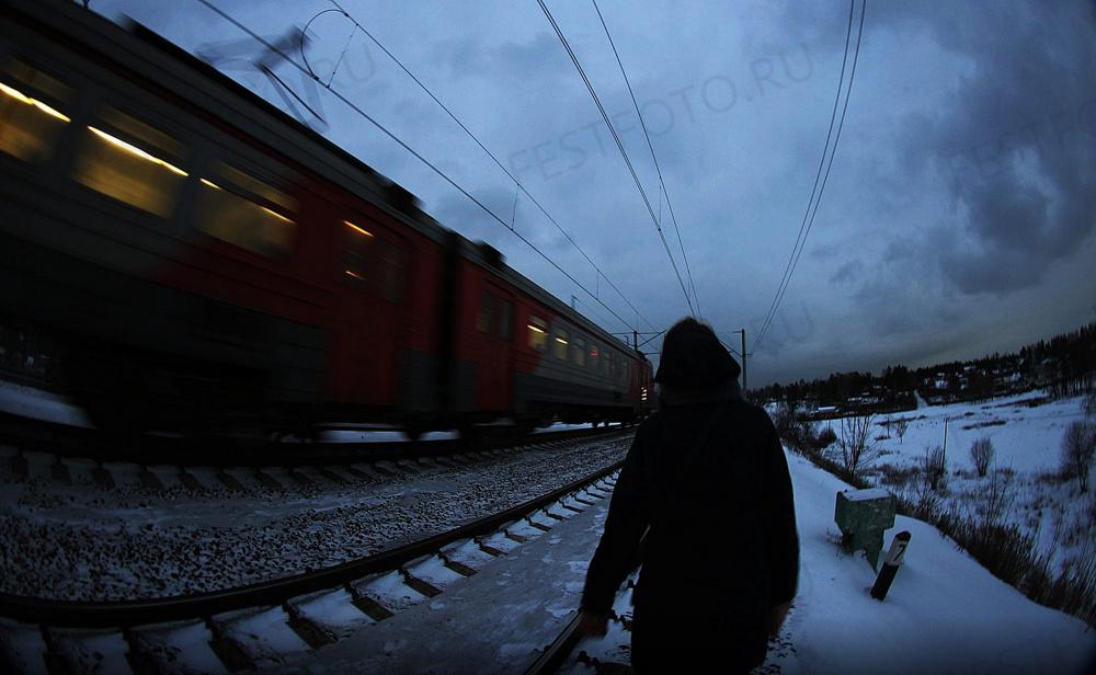 Фото поезд в натуре онлайн